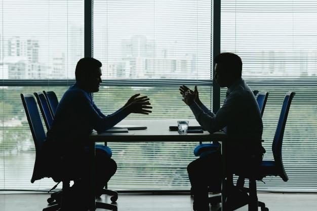 退職交渉の写真