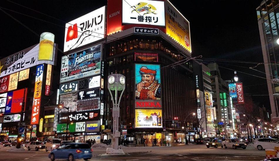 札幌市すすきのの写真