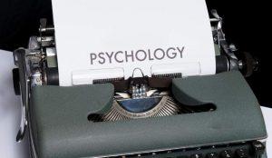 心理学の文字