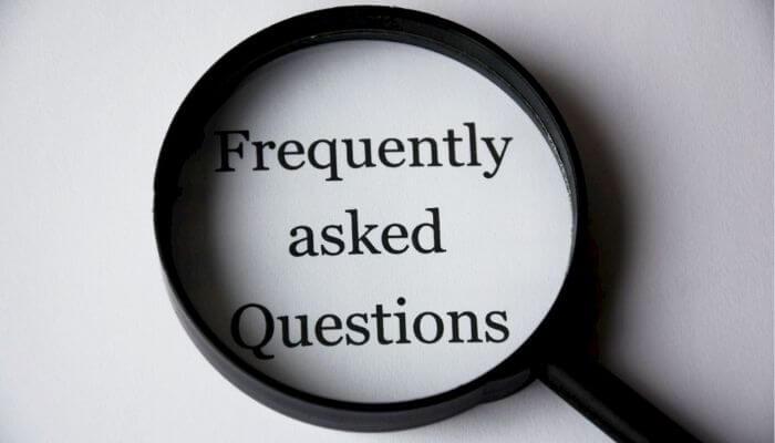 よくある質問の写真
