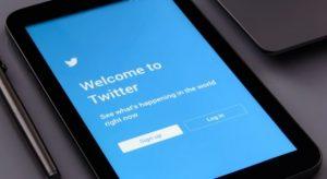 Twitterのログイン画面の写真